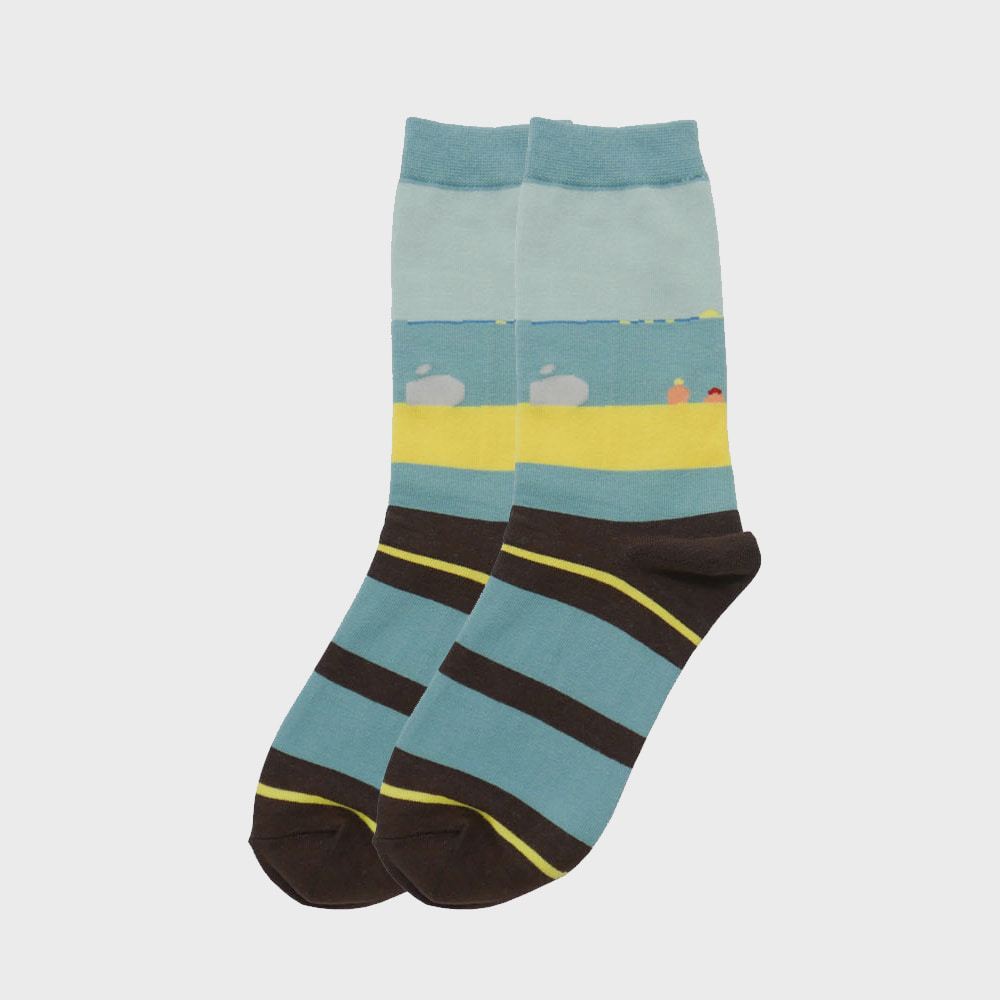 PINZLE x IHM Socks - A Windy Day