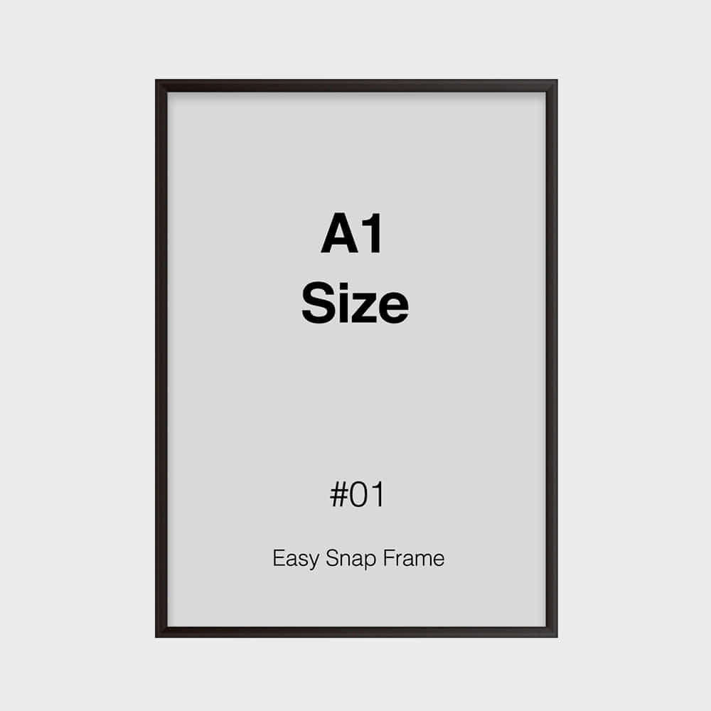 Easy Snap Frame - A1 Size